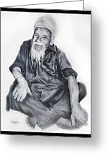 Indian Priest Greeting Card
