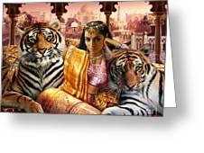 Indian Princess Greeting Card