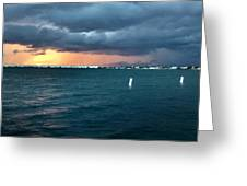 Indian River Lagoon Florida Storm Greeting Card