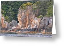 Indian Rock  Greeting Card