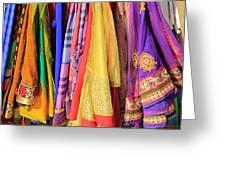 Indian Sarees Greeting Card