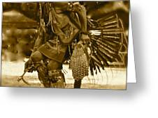 Indian Spirit Greeting Card