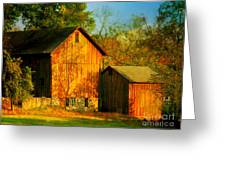Indian Summer In October Greeting Card