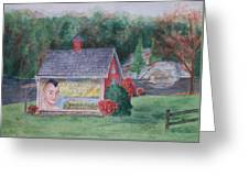 Indian Valley Farm Greeting Card