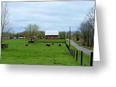 Indiana Barn 6 Greeting Card