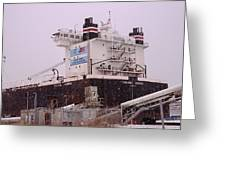 Indiana Harbor 1  Greeting Card