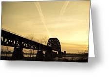 Indiana Ky Bridge Greeting Card