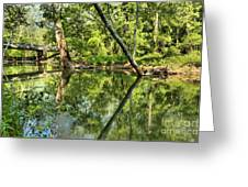 Indiana Reflections Greeting Card