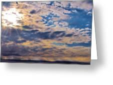 Indiana Sky Greeting Card