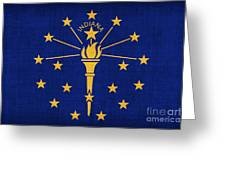 Indiana State Flag Greeting Card