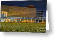 Indiana State Museum Night Delta Greeting Card