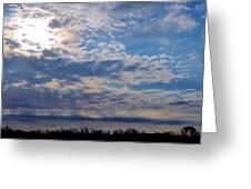 Indiana Sunrise Greeting Card