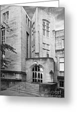Indiana University Bryan Hall Greeting Card by University Icons