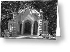 Indiana University Rose Well House Greeting Card by University Icons