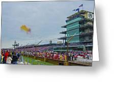 Indianapolis 500 May 2013 Balloons Race Start Greeting Card