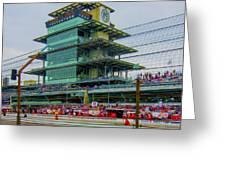 Indianapolis 500 May 2013 Square Greeting Card
