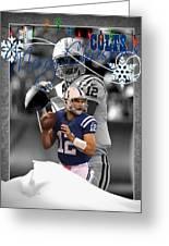 Indianapolis Colts Christmas Card Greeting Card
