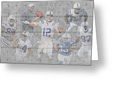 Indianapolis Colts Team Greeting Card