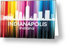 Indianapolis In 2 Greeting Card
