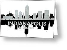 Indianapolis In 4 Greeting Card