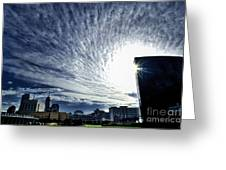 Indianapolis Sky Greeting Card