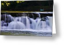 Indianhead Dam - Montgomery County Pa. Greeting Card