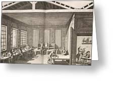 Indigo Dye Factory, 18th Century Greeting Card