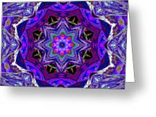 Indigo Intuition Greeting Card