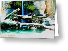 Indoor Nature Greeting Card