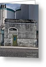 Industrial Architecture Greeting Card