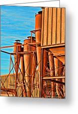Industrial Detail Photoart Greeting Card