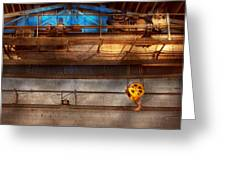 Industrial - The Gantry Crane Greeting Card