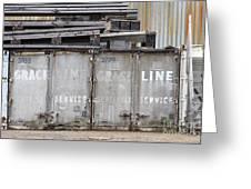 Industrial Wasteland Greeting Card