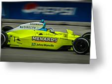 Indy Car 20 Greeting Card