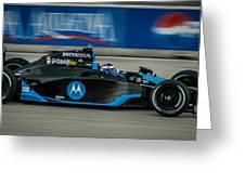 Indy Car 7 Greeting Card