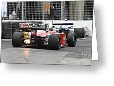 Indy Light  Greeting Card by Simon Jones