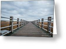Infinite Boardwalk Greeting Card