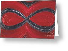 Infinite Love By Jrr Greeting Card