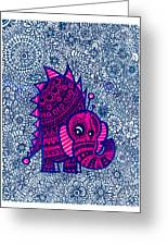 Infinite Pachyderm  Greeting Card