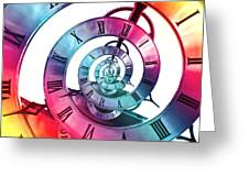 Infinite Rainbow 2 Greeting Card