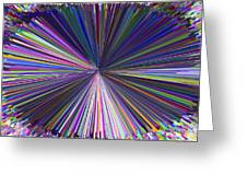 Infinity Abstract Greeting Card