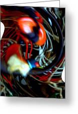 Infinity Dancer 7 Greeting Card