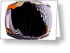 Infinity Drum 1 Greeting Card