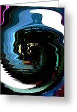 Infinity Jar Drink Me Greeting Card