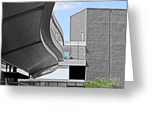 Information Technology Building Greeting Card