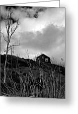 Infrared Barn Greeting Card