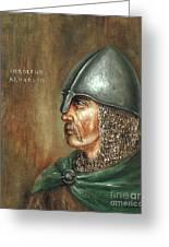 Ingolfur Arnarson Greeting Card