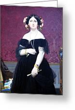 Ingres' Madame Moitessier Greeting Card