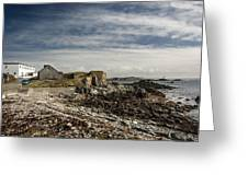 Inishbofin Island Off The West Coast Of Ireland Greeting Card