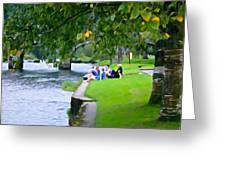 Inistioge Friends Greeting Card